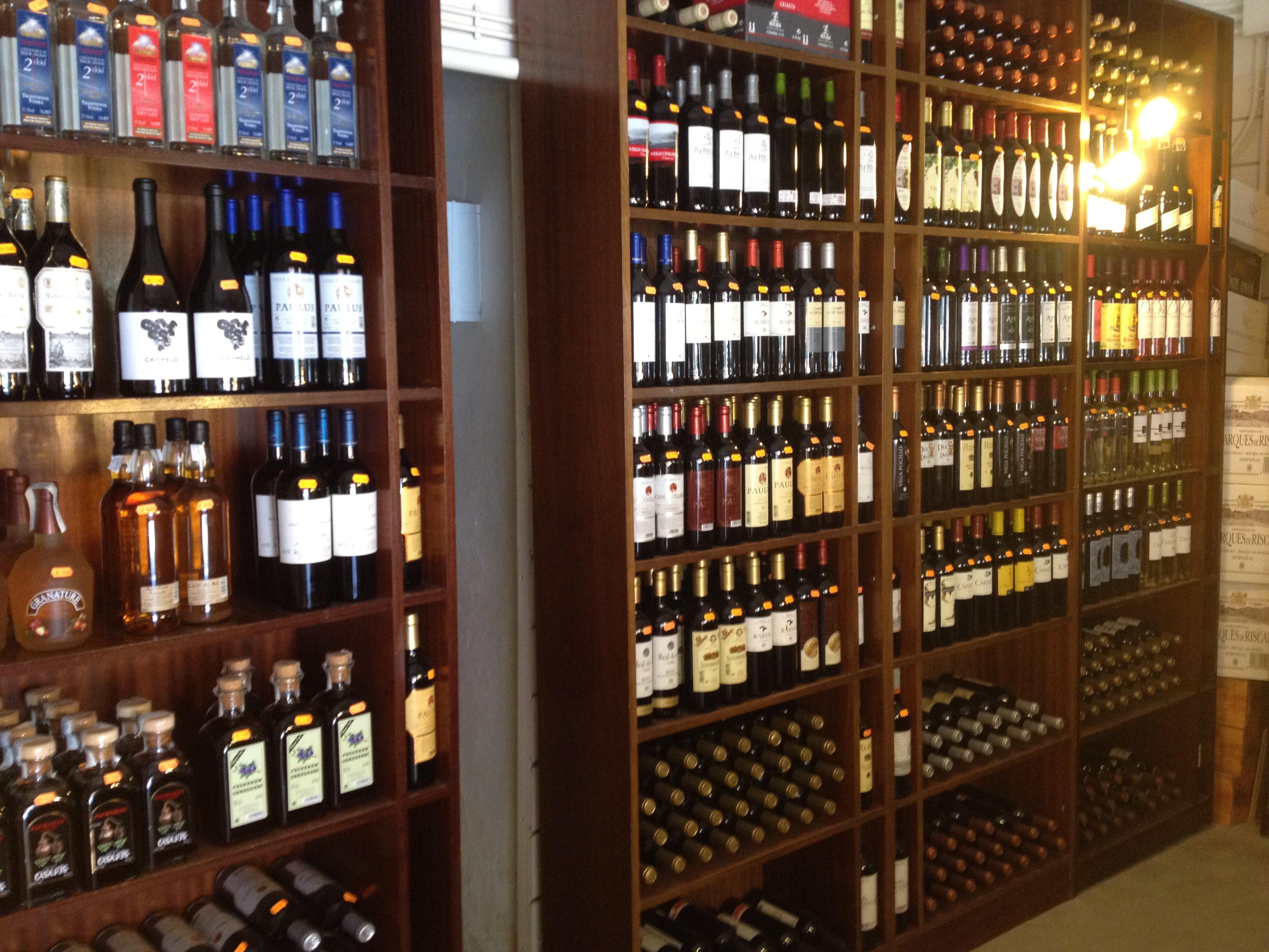 Beber el sibarita accidental - Estanterias de vino ...