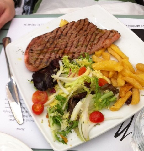 Restaurantes con encanto madrid el sibarita accidental for Menu frances tipico