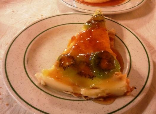 Tarta de fruta de Adela Etxea