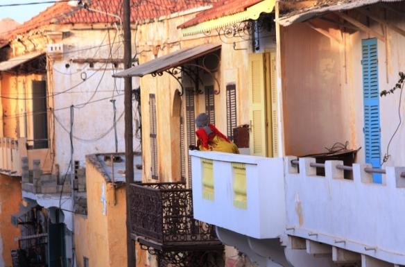 vista balcon señora