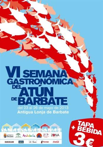Cartel de la Semana Gastronomica de Barbate (web del ayto)