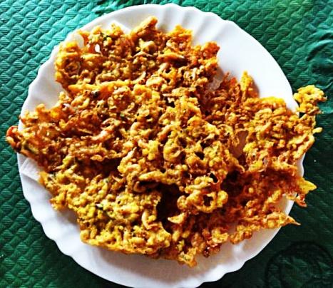 Tortillitas de camarones de Las Rejas