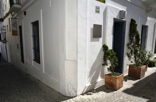 Fachada del Escondite del Viente en Tarifa